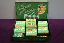 Tiger Auto Lamps Pictorial and 9 Original Packets