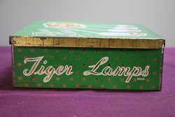Tiger Lamp With Contents