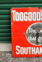 Toogoods Seeds Enamel Advertising Sign