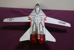 Toy Battery Operated TN Japan General Dynamics  Grumman F IIIA Jet Fighter