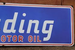 Trading Motor Oil Enamel Advertising Sign