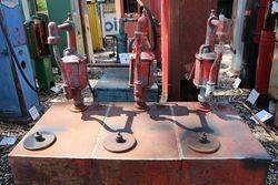 Triple Pump Oil Dispensing