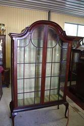 Two Door Dome Cabinet