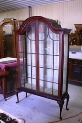 Two Door Dome Cabinet