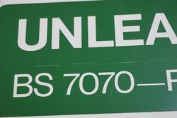 Unleaded BS 7070 Premium  Double Sided wall Mount Sign