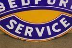 Vauxhall Bedford Enamel Sign