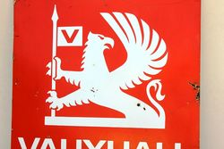 Vauxhall Enamel Advertising Sign
