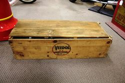 Veedol Oils Wooden Packing Crate