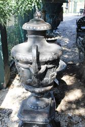 Verona Cast Iron Urn And Base