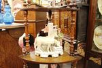 Victorian 4 Tier Walnut Corner Wot Not C1880