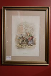 Victorian Framed Print Donand39t Touch
