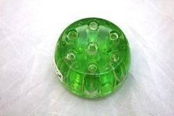 Victorian Green Glass Flower Separator
