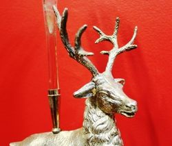 Victorian SilverPlated Stag Epergne