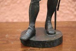 Victorian Spelter Figure of Quentin Durward