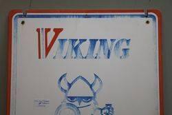 Viking Tyre Service Aluminium Advertising Sign