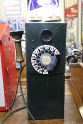 Vintage 10c Coin Operated  Phone
