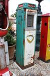 Vintage Art Deco  Aster DUX Cabinet Petrol Pump by GEX