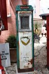 Vintage Aster DUX Cabinet Petrol Pump by GEX
