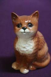 Vintage Beswick Kitten Figure