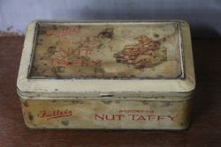 Vintage Fullerand39s Assorted Nut Taffy Toffee Tin