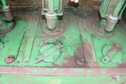 Vintage Garage 3 Pump Breadbin Dispensing Cabinet