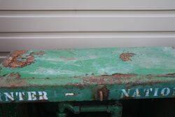 Vintage Garage Single Pump Breadbin Dispensing Cabinet