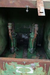 Vintage Garage Twin Pump Breadbin Dispensing Cabinet