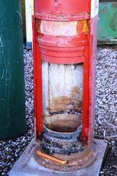 Vintage Shellmex Manual Petrol Pump