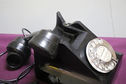 Vintage Strathkinnes Black Telephone