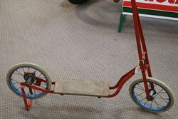 Vintage Triang Scooter
