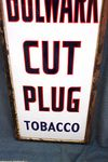 Vintage Wills Bulwark Cut Plug Tabacco Enamel Sign