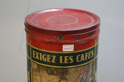 Vintage  AVL Coffee Tin