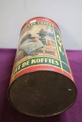 Vintage  AVL Coffee Tin