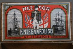 WFlatau and Sons Nelson Knife Polish Wooden Box
