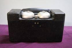 WW2 All Bakelite andquotFandquot MkII Field Telephone