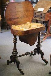 Walnut Sewing Box