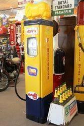 Wayne AS70 Petrol Pump in Golden Fleece Livery