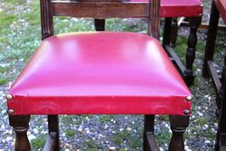 Well Carved Set Of 6 French Brittany Chairs C1900