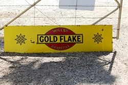 Wills Gold Flake Enamel Strip Sign