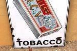 Wills Rich Cut Virginia Tobacco Pictorial Enamel Sign