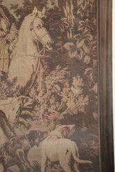 Wonderful C19th Framed Tapestry