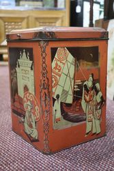 Wonderful Large Early Tea Tin