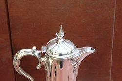 Wonderful Quality C19th Silver Plated Wine Jug