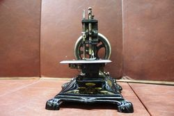 Wonderful Quality Late 19th Century Cast Sewing Machine