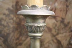 Wonderful Quality Plated Metal Standard Lamp