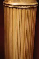 Wonderful Quality Satinwood Pedestal