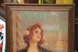 Wooden Framed Nisterand39s Fine Art Publications Advertising