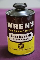 Wrenand39s Leather Oil Tin