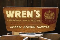 Wrenand39s SuperWax Shoe Polish Shop Advertising
