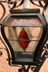 Wrought Iron Standard Lamp